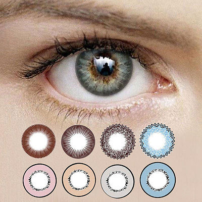 1 Pair Contact Lens Contacts Charming Eye Lenses Eye Makeup Party Cosplay Supply