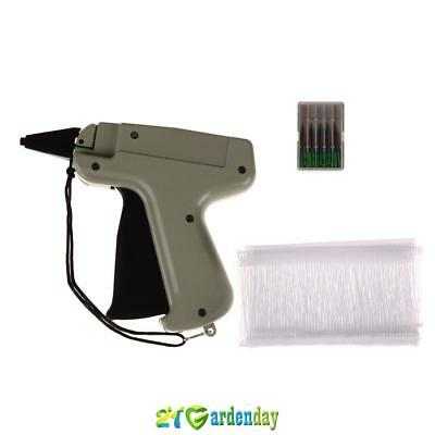 "Portable Clothes Garment Price Label Tagging Tag Gun + 3""1000 Barbs +5 Needles"