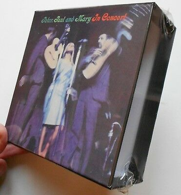 Peter Paul & Mary In Concert Empty  Box For Japan Mini Lp Cd