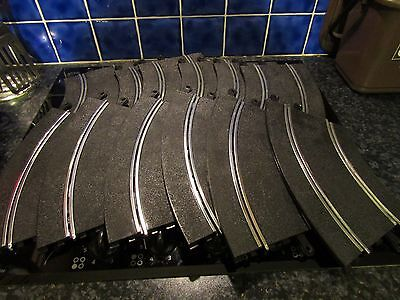 Scalextric 12 Standard Curves - Good Used Condition