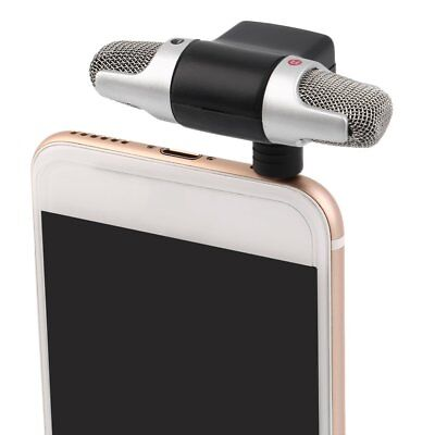 Portable Mini Mic Digital Stereo Microphone for Recorder PC Mobile Phone CU