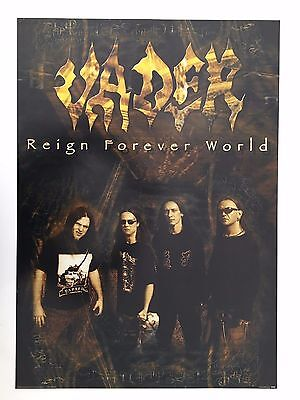 Vader,music Group, Rare Authentic Licensed 2001 Poster