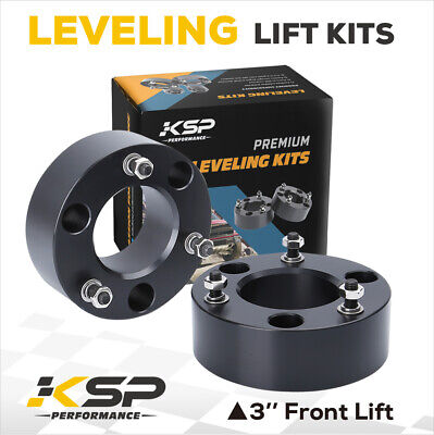 "3"" Front Leveling Lift Kit Strut Spacer 2WD 4WD Raise 3 in 2004-2016 Ford F150"