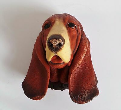 Vintage Bossons Dogs Head – Basset Hound (1968)