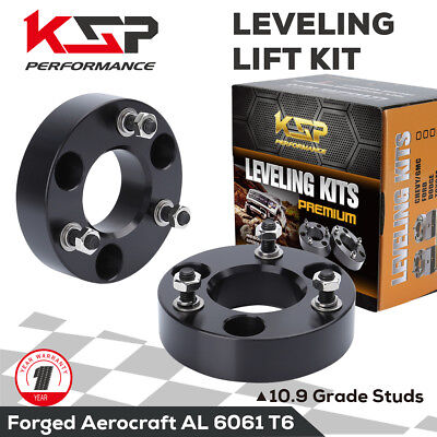 """2"""" Front Leveling Spacer Lift Kit 2006-2018 Dodge RAM 1500 4WD CNC Machined"""