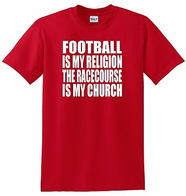 Wrexham Fans Themed Football Is My Religion Style T-Shirt All Sizes