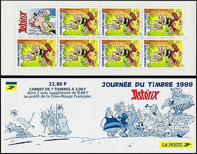 1999 FRANCE Carnet BC3227**JOURNEE du TIMBRE ASTERIX Stamp day Booklet MNH
