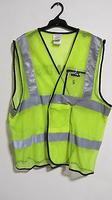 Safe To Shine Scotchlite Qantas Reflective Mesh Vest Size: 3XL