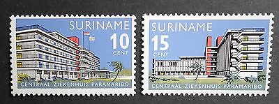 Suriname Colony (1966) Parimaribo Hospital / Architecture / Medical - Mint (MNH)
