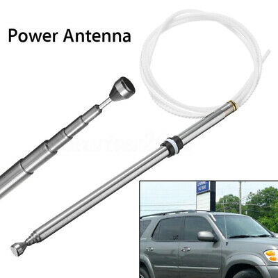 Power Antenna Aerial AM FM Radio Replacement Mast Cable For Toyota Sequoia 01-07