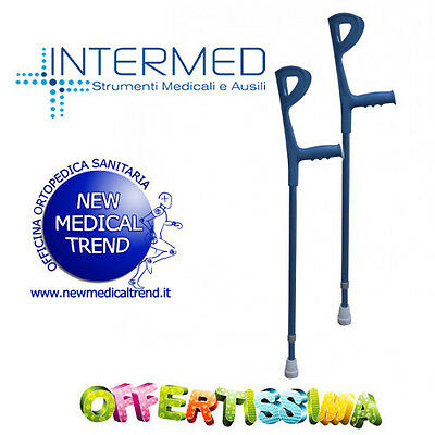 Coppia Di Stampelle New Intermed
