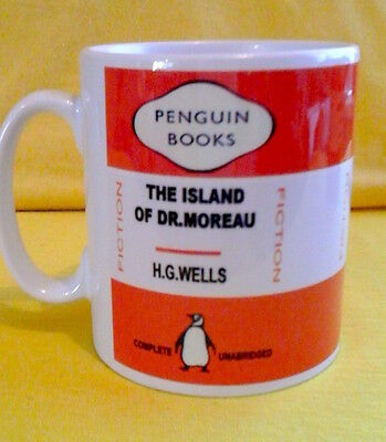 Penguin Book Cover-H.g.wells The Island Of Dr.moreau-On A  Mug.