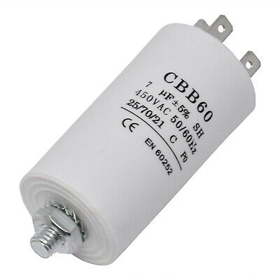 Candy Hoover Tumble Dryer Motor Capacitor 7Uf