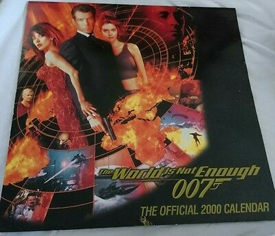 The world is not enough 2000 calender