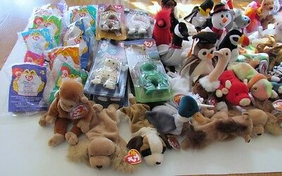 New Retired 64 Beanie Babies See Complete List in Details