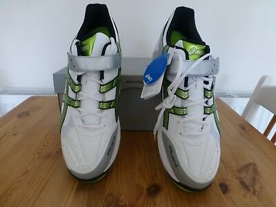 New Asics Mens Gel Speed Menace Cricket Bowling Boots Size 14