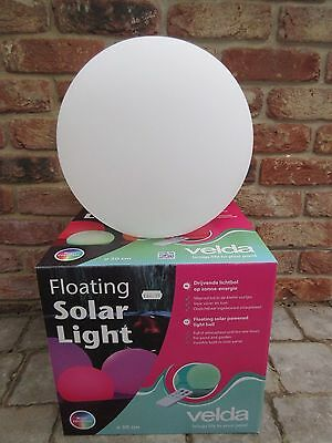Velda Floating Solar Pond Light 30Cm