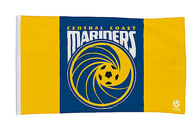 CENTRAL COAST MARINERS GIANT FLAG 90x150cm JUST $9.99 INC FREE POSTAGE