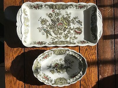 Ridgway by Staffordshire Windsor Tray And Bowl