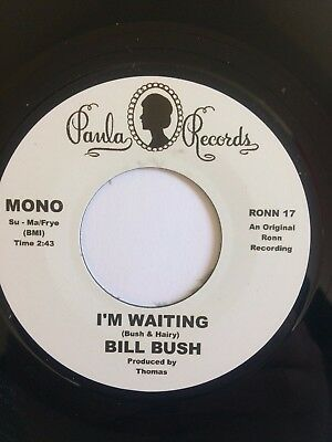 """the montclairs / bill bush – Hung Up On Your Love / I'm Waiting 7"""" single"""