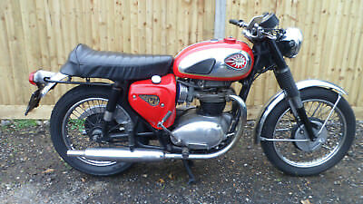 1967 A65 BSA LIGHTNING 650cc CLASSIC MOTORCYCLE