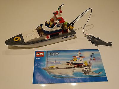 Lego City Fishing Boat (4642) 100% Complete
