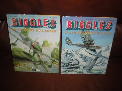 Biggles - Lot De 2 Tomes N°9 Et 13 Editions Originales Miklo
