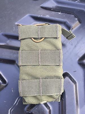 EAGLE INDUSTRIES RANGER GREEN SINGLE POUCH FB Carbine Pouch  KYDEX MOLLE FRONT