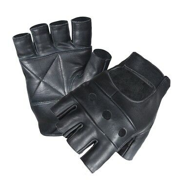 Sports Gym Leather Padded Gloves Fitness Weight Fancy Dress Cycle Wheelchair