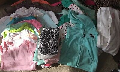 Lot Of 30 Baby GIRLS Clothes 6-9M 6 9 Months Girl Clothing Carters Hoodie Pants