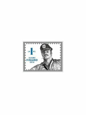 Tom of Finland Stamp Pin Final Men masculine Pride Gay-Pride Free Delivery!