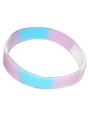 Trans Bracelet Silicone / Armband schmal New Top Pride Gay-Pride Free Delivery!