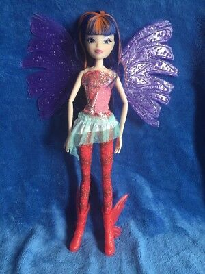 Winx Club Sirenix Musa Colour Change Hair ULTRA RARE