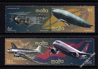 Malta 2000 Centenary of Air Transport Complete Set SG 1176 - 9 Unmounted Mint