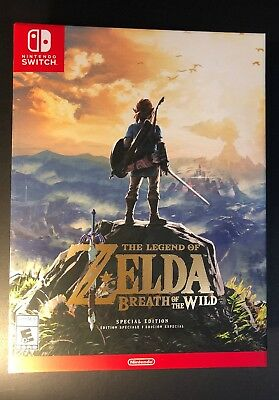The Legend of Zelda Breath of the Wild [ Special Edition ] (Nintendo Switch) NEW
