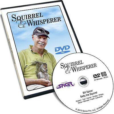 Squirrel Whisperer DVD - Eastern Gray Squirrel True Love Story Animal Film