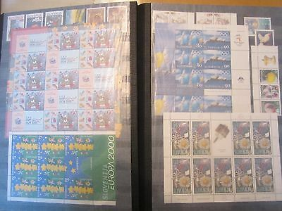 Slowenien Slovenia Slovenie 1991 - 2009 collection, all stamps, MNH