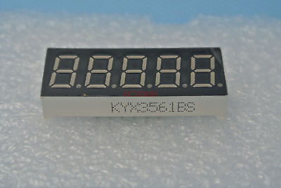 2pcs .36 inches RED 7 Seg-5 digit 5 digitals display Common Anode #BS