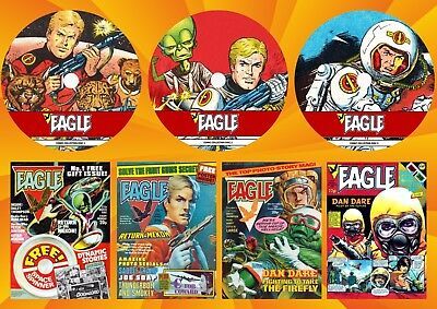 Eagle Series 2 (1-479) Comics On 3 DVD Rom's