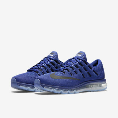 eee7ffbc4c1f NEW NIKE AIRMAX 2016 Size 10 806771 401 BLUE Royal Racer RUNNING SHOES 2016