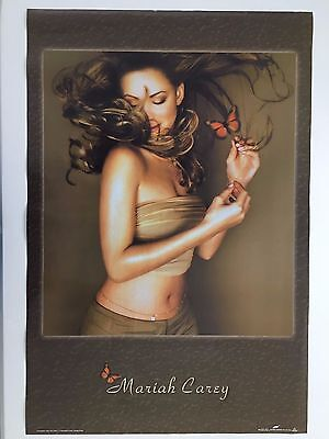 Mariah Carey, Butterfly,1999,rare Authentic Licensed 2000 Poster