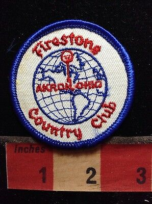 Ohio Golf Patch FIRESTONE COUNTRY CLUB ~ Akron S75T
