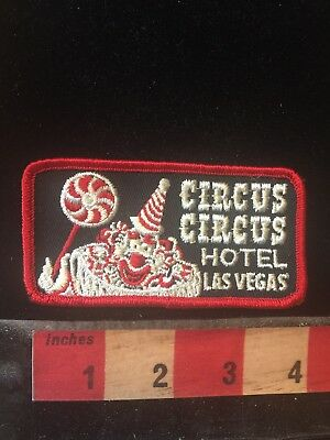 Las Vegas CIRCUS CIRCUS HOTEL Nevada Clown Patch 76YY