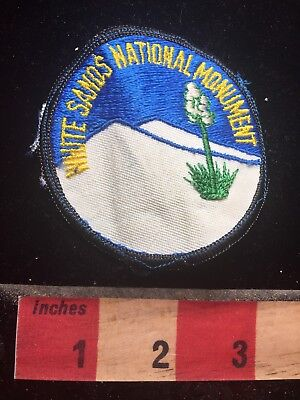 As-Is WHITE SANDS NATIONAL MONUMENT New Mexico Patch 75GG