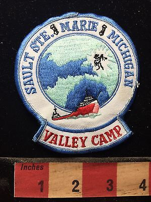 Sault Saint Marie Michigan Valley Camp Michigan Patch 74WF