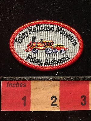 Alabama FOLEY RAILROAD MUSEUM Patch ~ Train 68EE