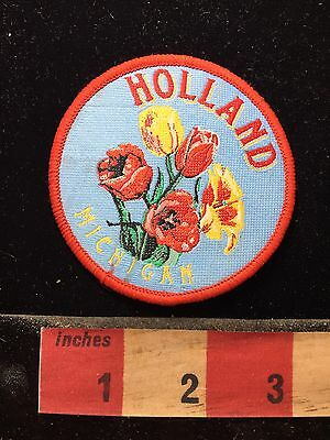 Lovely Tulip Flowers HOLLAND Michigan Patch 74WF