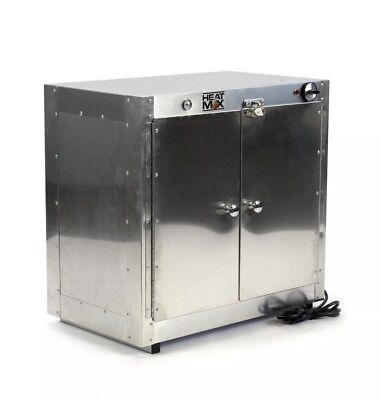 HeatMax Commercial Countertop Hot Box Cabinet Food Warmer 25 x 15 x 24 Display >
