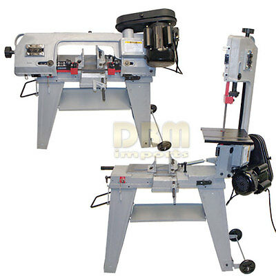 "4-1/2"" Metal Cutting Band Saw 4x6 Horizontal Vertical Band Saw Free Shipping"