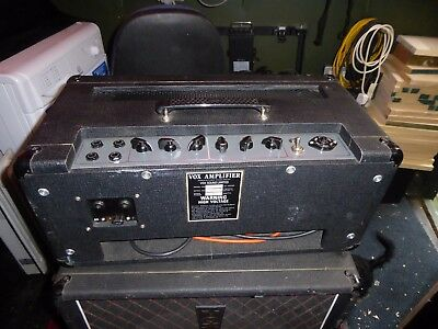 """1965 VOX 18"""" Foundation Bass Cabinet and Amplifier"""